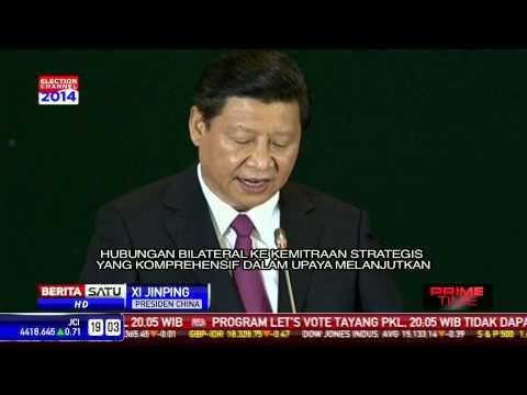Presiden China Sampaikan Visi di Hadapan DPR RI