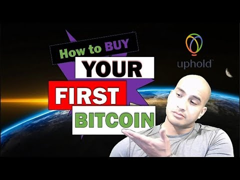 How To Buy Your First Bitcoin (crypto) On Uphold!
