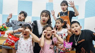 Kids Go To School | Chuns And Friends Learn To Do Math In The Classroom