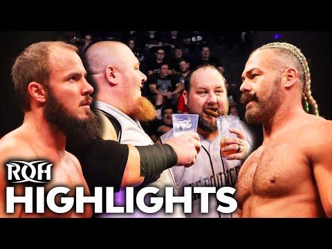 PJ Black Tries To Coach Protégé To Victory Vs Bouncers!   ROH Highlights Feb 7, 2020