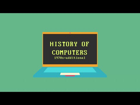 History Of Computers - A Timeline