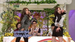 【TVPP】Bora, Dasom(SISTAR) - Alone, 보라, 다솜(씨스타) - 나 혼자 @ World Changing Quiz Show