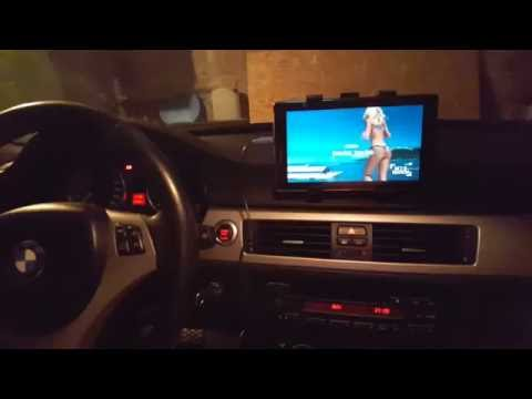 BMW tablet dashboard suction cup mount