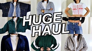 HUGE Try On Clothing Haul! | Kenzie Elizabeth
