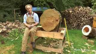 Repeat youtube video The making of a log hive - Treatment Free Tree Beekeeping in  Great Britain