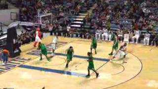 360 Alley Oop Gerald Wallace NBA 2k10
