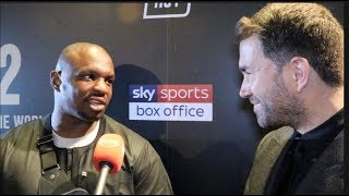 'I WAS READY TO RIDE ON YOU! I HAD THE GOONS READY' -DILLIAN WHYTE TO EDDIE HEARN, PAIR HAVE IT OUT!