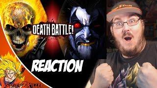 Ghost Rider VS Lobo (Marvel VS DC) | DEATH BATTLE! REACTION!!!