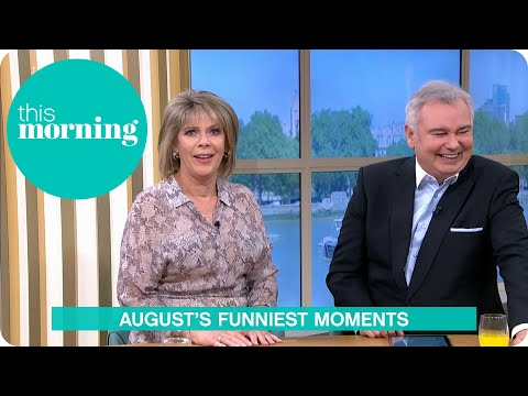 August's Funniest Moments | This Morning