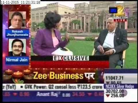 Dr MS Swaminathan on Zee Business