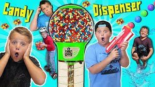 KIDS CANDY Dispenser Roulette GAME! FUN FUN FUN!