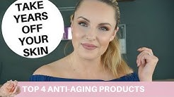 BEST 4 Products That Will Take Years off your Skin || No-Makeup Glow
