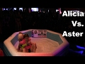 Her Top Came Off! | Alicia Vs. Aster | Oil Wrestling | Season 2 | Night 3