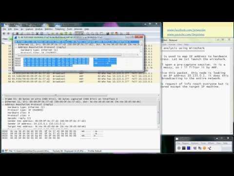 Address Resolution Protocol (ARP) Analysis Using Wireshark