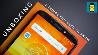 Moto E5 Plus - 5 Things you should know