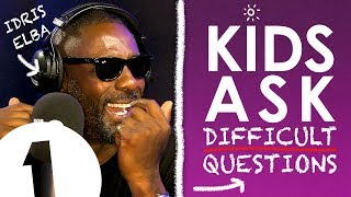 """Have you ever farted & blamed it on someone else?"": Kids Ask Idris Elba Difficult Questions"