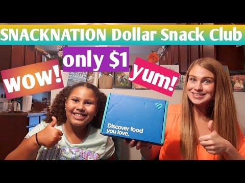 Snacknation Dollar Snack Club July 2019