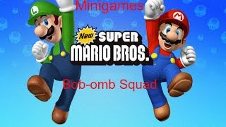 New Super Mario Bros. DS Minigames - Bob-omb Squad