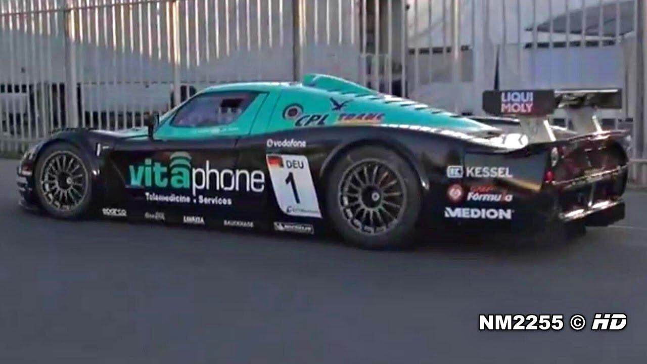 Maserati Mc12 Corsa Insane Sound Start And Huge Revs