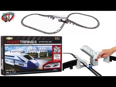power-trains-starter-set-train-set-toy-review,-jakks-pacific