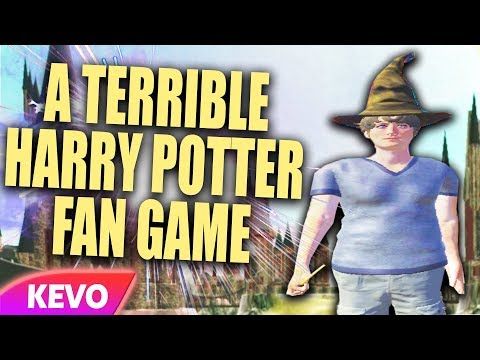 A Terrible Harry Potter Fan Game