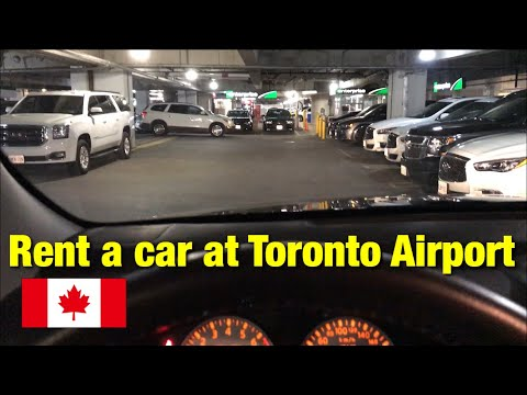 [ Canada Airport ] Rent A Car At Toronto Airport In Canada