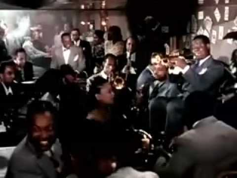 Louis Armstrong & Danny Kaye, A Song is Born  Part 1