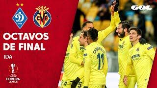 D. KIEV 0-2 VILLARREAL - RESUMEN Ida 1/8 de final Europa League
