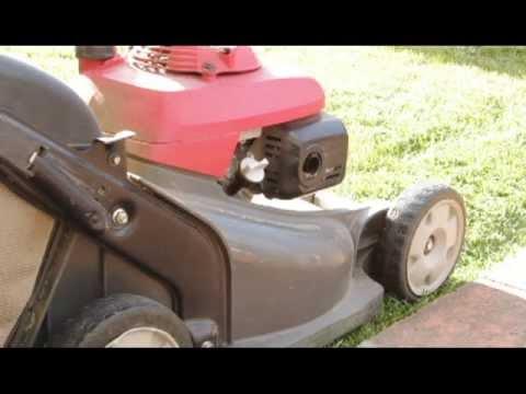 lawnmower backfire pt 2 flames   FunnyCat.TV