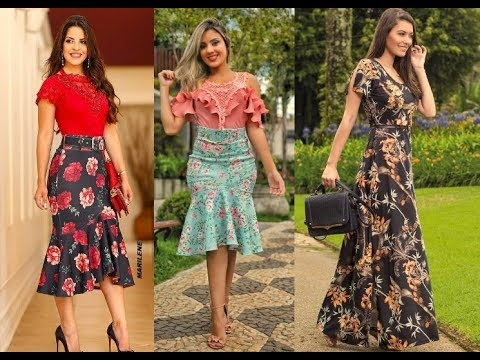 09364e62d Moda Evangelica 2019 Lindos modelos #Moda2019 - YouTube