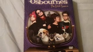 The Osbournes (2002) The Complete First Season - DVD Review and Unboxing