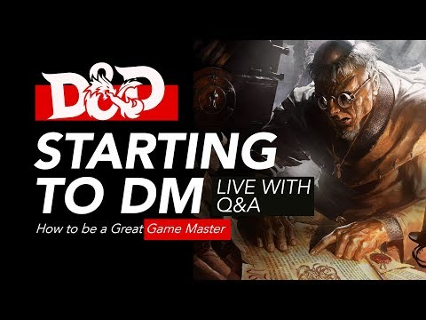 How to Start DMing in D&D - Game Master Tips