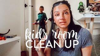 I JUST LOST IT | KONMARI KIDS TOY AND BOOK CLEAN UP | Konmari Home