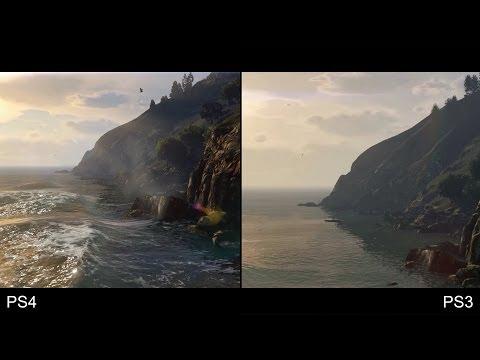 Grand Theft Auto 5/GTA 5 PS4 vs PS3 Trailer Comparison