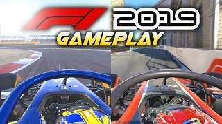 F1 2019 Gameplay Raw: FORMULA 2 ONBOARD GAMEPLAY! (Norris & Russell F2 Gameplay - F1 2019 Game)