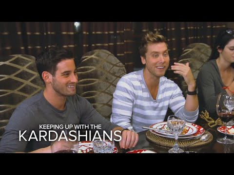 KUWTK   Lance Bass in the House   E!