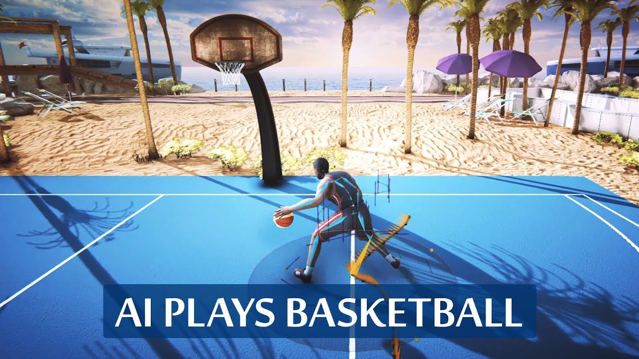 These AI-Driven Characters Dribble Like Mad! 🏀