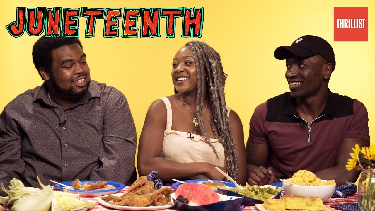 WATCH: The Best Foods To Celebrate Juneteenth With