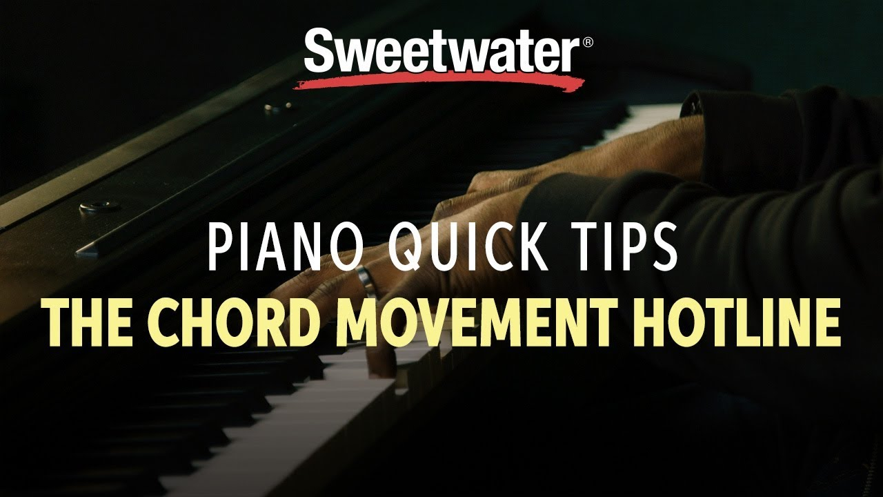 Piano quick tips the chord movement hotline youtube piano quick tips the chord movement hotline hexwebz Images