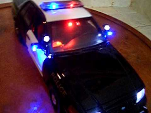 Toy Police Car Toy Car With Lights And