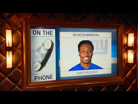 NY Giants WR Brandon Marshall Weighs in on Signing With The Giants & More - 3/29/17
