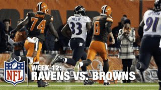 The Kick Six: Ravens Block Last-Second Field Goal & Return it for the Win! | Browns vs. Ravens | NFL