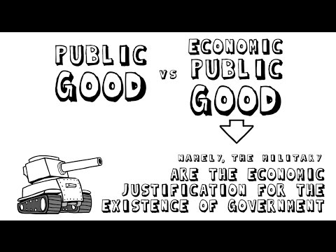 Before we talk about government - Public goods renamed