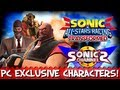 Sonic & All-Stars Racing Transformed - All PC Exclusive Characters!