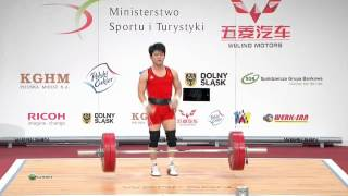 TRAN Le Quoc Toan 3s 125 kg cat. 56 World Weightlifting Championship 2013