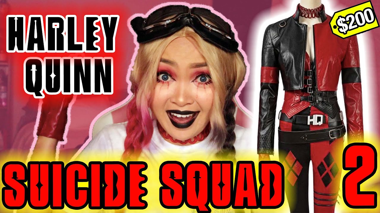 Download $200 HARLEY QUINN Suicide Squad 2 COSTUME REVIEW   SimCosplay