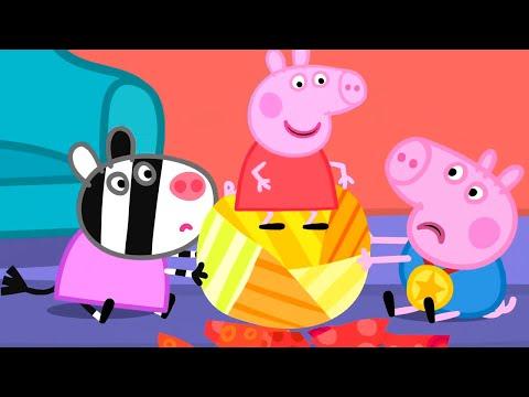 Свинка Пеппа на русском все серии подряд | Игры на праздник от Пеппы | Мультики