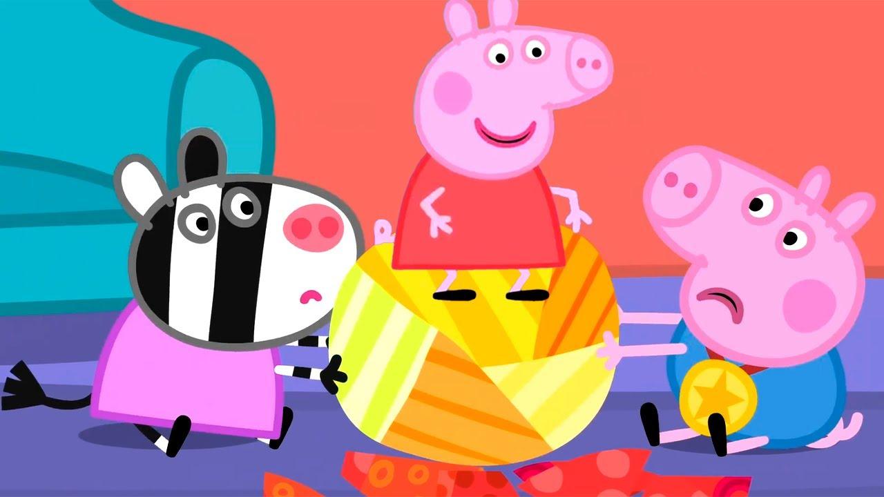 Свинка Пеппа на русском все серии подряд | Игры на праздник от Пеппы | Мультики MyTub.uz