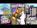 Fortnite News   Encrypted Wavy Man Skin, Big Map Changes, TV's On, Block, Small Patch & More!