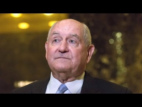 Trump Picks Agribusiness & Chemical Industry Darling Sonny Perdue as Secretary of Agriculture